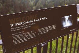 Snoqualmie Falls Park in Snoqualmie, WA