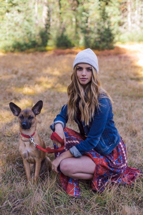Hat: H&M, Dog: cutest