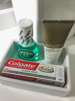 Travel toothpaste and mouthwash